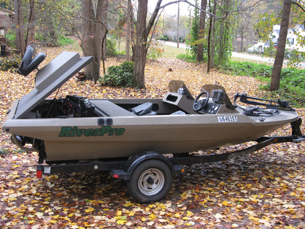2005 riverpro lopro jet boat 13 500 lake allatoona for Jet fishing boats for sale